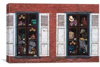 fake shop, Canvas Print