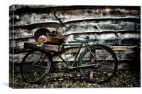 dutch bike, Canvas Print