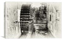 The Old Water Mill, Canvas Print