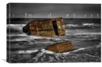 derelict Pillbox, Canvas Print