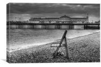 Brighton Sea View, Canvas Print
