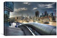 London Cityscape, Canvas Print