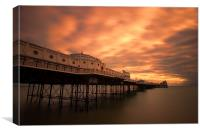 Brighton Marine Palace and Pier, Canvas Print