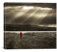 redcoat, Canvas Print