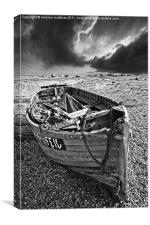 dungeness decay, Canvas Print