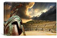 ancient greece, Canvas Print