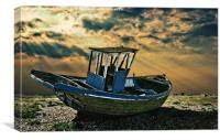 dramatic dungeness, Canvas Print