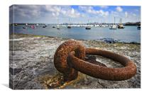 the harbour wall, Canvas Print