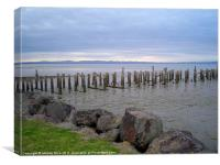 Remains of a Jetty, Canvas Print
