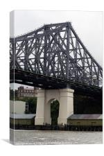 Story Bridge over Brisbane River, Canvas Print