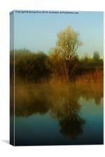 Tree reflection, Canvas Print