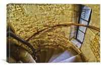 Stone staircase, Canvas Print