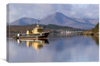 Loch Alsh & Skye, Canvas Print