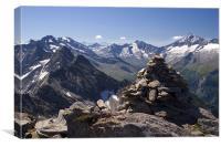 Ahorn Spitze Summit, Austria