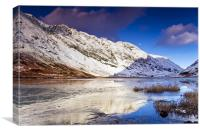 Loch Actriochtan, Glencoe, Scotland, Canvas Print