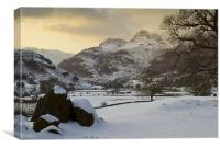 Great Langdale, Canvas Print