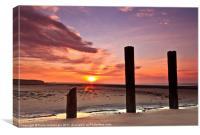 Stevenston Sunrise, Canvas Print