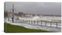 Ardrossan high seas, Canvas Print