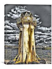 Ardrossan Lighthouse, Canvas Print
