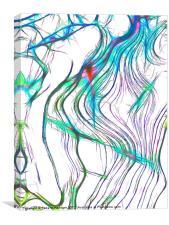 Fractal Ice, Canvas Print
