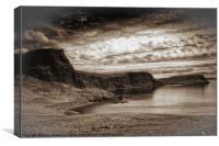 Neist Point Isle of Skye, Canvas Print