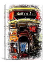 Last Stop Maryhill, Canvas Print