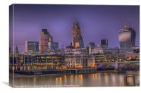 Goodnight London, Canvas Print