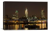 London by Night, Canvas Print