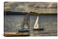 An Evenings Sail, Canvas Print