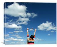Fly high, Canvas Print