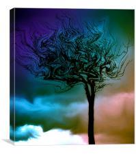 Surreal Tree, Canvas Print