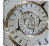 Time goes on and on......, Canvas Print