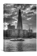 The London Shard, Canvas Print