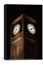 Big Ben, Canvas Print