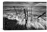 Sea rush, Canvas Print