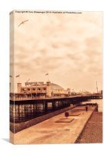 Brighton Pier, Canvas Print