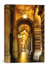 Lights of the GPO, Canvas Print