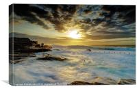 Fury at Maroubra, Canvas Print
