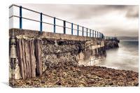 Weymouth Stone Pier, Canvas Print