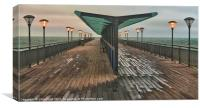 Boscombe Pier Illuminations, Canvas Print
