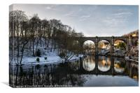 Knaresborough Reflectiions, Canvas Print