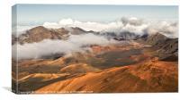 Haleakala Volcano Maui, Canvas Print