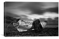 Try Again Weymouth Monotone, Canvas Print