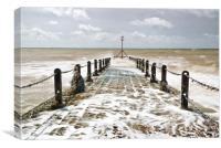 Brighton's Little Pier, Canvas Print
