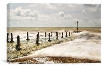 Brighton's Pier Waves, Canvas Print