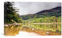 Loch Lubnaig Reflections, Canvas Print
