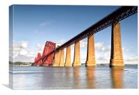 Forth Bridge Reflections, Canvas Print