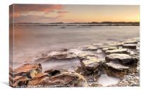 Newton-on-the-Sea Sunset, Canvas Print