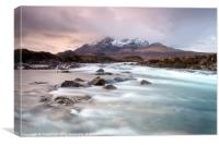 Sligachan River, Canvas Print