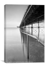 Southport Pier Rail, Canvas Print